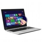 Toshiba 15.6' Satellite U50t-A-10H, Procesor Intel® Core™ i5-4200U 1.6GHz Haswell, 4GB, 750GB, HD 4400, Win 8, Silver