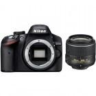 Nikon D3200 negru + obiectiv AF-S DX NIKKOR 18-55mm f/3.5-5.6G VR II