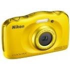 Nikon COOLPIX S33 Galben + Card 8Gb