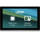 UTOK 1005D, 10.1 inch, MultiTouch, Cortex A7 1GHz Dual Core, 1GB RAM, 8GB flash, Wi-Fi, Android 4.4, negru