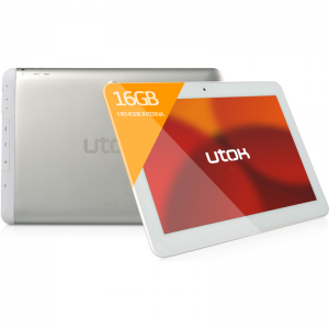 UTOK 1000 Q, 10.1 inch IPS, MultiTouch, Cortex A7 1.2GHz Quad Core, 1GB RAM, 16GB flash, Wi-Fi, Android 4.2.2, alb