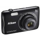 Nikon COOLPIX S3700 Negru + Card 4GB + Husa