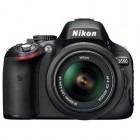 Nikon D5100 negru + obiectiv AF-S DX Nikkor 18-55mm f/3.5-5.6G VR
