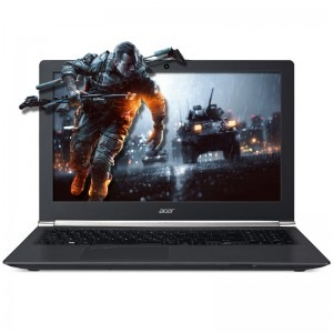 Notebook / Laptop Acer Gaming 15.6'' Aspire Nitro VN7-592G-75BN, FHD, Procesor Intel® Core™ i7-6700HQ (6M Cache, up to 3.50 GHz), 16GB, 1TB + 256GB SSD, GeForce GTX 960M 4GB, FreeDos, Black