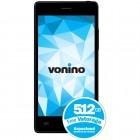 Smartphone Vonino Ego QS Dual Sim Black