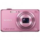 Aparat foto compact Sony Cyber-Shot DSC-WX220 roz