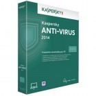 Securitate Kaspersky Anti-Virus 2014, 3 PC, 2 ani, Retail, New license