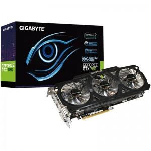 Gigabyte GeForce GTX 760 OC WindForce 3X 2GB DDR5 256-bit