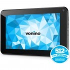 Tableta Vonino Orin HD, 7 inch MultiTouch, Cortex A9 1.2GHz Dual-Core, 1GB RAM, 8GB flash, Wi-Fi, Android 4.2.2, negru + cablu OTG