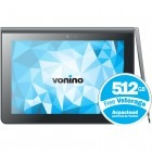 Tableta Vonino Primus QS, 9.4 inch IPS MultiTouch, Cortex A9 1.6GHz Quad-Core, 1GB RAM, 16GB flash, Wi-Fi, Bluetooth, Android 4.2, negru
