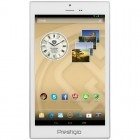 Tableta Prestigio MultiPad Color 8.0 PMT5887, 8 inch IPS MultiTouch, Cortex A7 1.3GHz Quad Core, 1GB RAM, 16GB flash, Wi-Fi, Bluetooth, 3G, GPS, Android 4.2, White