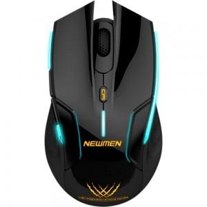 Mouse gaming Newmen Wireless E500 Black