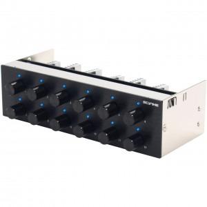 Scythe Kaze Q-12 black pentru 12 ventilatoare