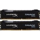 HyperX Savage Black 8GB DDR4 2666MHz CL13 Dual Channel Kit