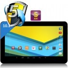 UTOK 1000 Q Lite, 10.1 inch, MultiTouch, Cortex A7 1GHz Quad Core, 1GB RAM, 8GB flash, Wi-Fi, Android 4.2, negru-argintiu