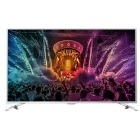 Televizor LED Philips Smart TV Android 49PUS6501/12 Seria PUS6501/12 123cm argintiu 4K UHD Ambilight cu 2 laturi