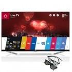 Televizor LED LG Smart TV 47LB731V Seria LB731V 119cm argintiu Full HD 3D contine 2 perechi de ochelari 3D