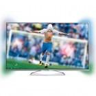 Televizor LED Philips Smart TV 55PFS6609/12 Seria PFS6609 140cm argintiu Full HD 3D Ambilight contine 2 perechi de ochelari 3D