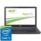 Acer 15.6'' Aspire E5-572G-35CG, HD, Procesor Intel® Core™ i3-4000M (3M Cache, 2.40 GHz), 4GB, 1TB, GeForce 940M 2GB, Linux, Black