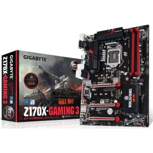Placa de baza GIGABYTE GA-Z170X-Gaming 3