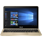 ASUS 11.6'' VivoBook E200HA, HD, Procesor Intel® Atom™ x5-Z8300 (2M Cache, up to 1.84 GHz), 2GB, 32GB eMMC, GMA HD, Win 10 Home, Gold