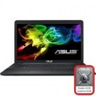 Notebook / Laptop ASUS 17.3'' X751LB, HD+, Procesor Intel® Core™ i5-5200U 2.2GHz Broadwell, 4GB, 2TB, GeForce 940M 2GB, FreeDos, Black