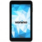 Tableta Vonino Onyx QS, 7 inch IPS MultiTouch, Cortex A7 1.3GHz Quad Core, 1GB RAM, 8GB flash, Wi-Fi, Bluetooth, 3G, GPS, Android 4.4, black