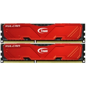 Memorie TeamGroup Vulcan Red 8GB DDR3 2400MHz CL11 Dual Channel Kit