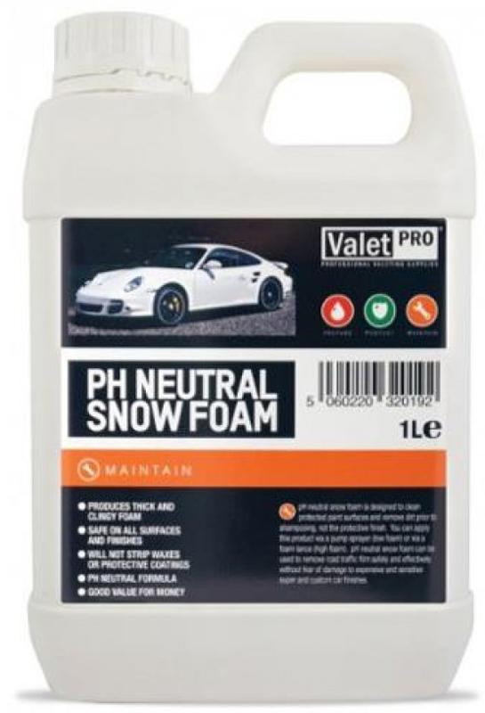 Spalare si detailing rapid Valet Pro PH Neutral Snow Foam - Spuma Spalare Auto PH Neutru 5L