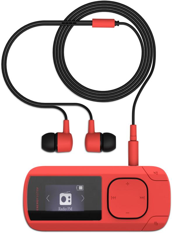 MP3 Player Energy Sistem MP3 Clip Coral