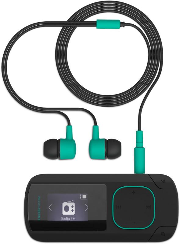 MP3 Player Energy Sistem MP3 Clip Bluetooth Mint