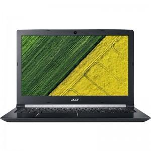Notebook / Laptop Acer 15.6'' Aspire 5 A515-51G, FHD, Procesor Intel® Core™ i7-7500U (4M Cache, up to 3.50 GHz), 4GB DDR4, 1TB, GeForce MX150 2GB, Linux, Obsidian Black
