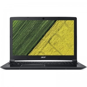 Notebook / Laptop Acer 15.6'' Aspire 7 A715-71G, FHD, Procesor Intel® Core™ i7-7700HQ (6M Cache, up to 3.80 GHz), 8GB DDR4, 512GB SSD, GeForce GTX 1050 Ti 4GB, Linux, Black
