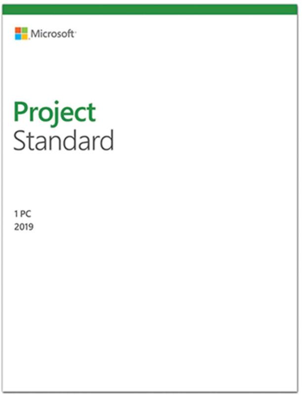 Aplicatie Microsoft Project Standard 2019, 32/64-bit, Engleza, OLP NL