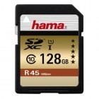 Card memorie Hama SDXC 128GB Clasa 10 UHS-I 45 MB/s - desigilat