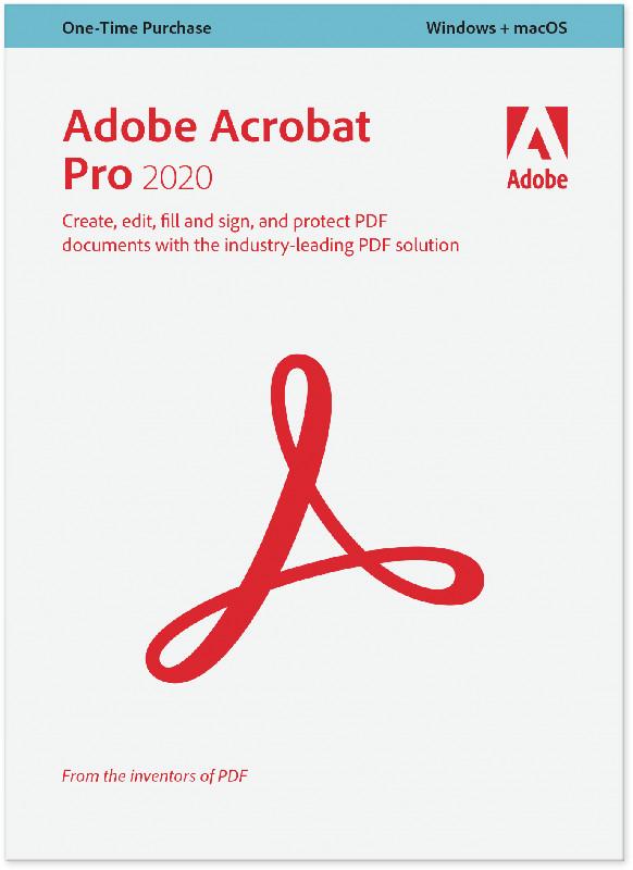 Adobe Professional 2020, 1 user, Licenta perpetua, International English