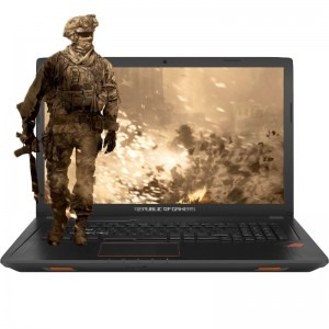 Notebook / Laptop ASUS Gaming 17.3 ROG GL753VE, FHD, Procesor Intel® Core™ i7-7700HQ (6M Cache, up to 3.80 GHz), 8GB DDR4, 1TB 7200 RPM, GeForce GTX 1050 Ti 4GB, Endless OS