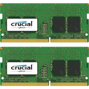 Memorie notebook Crucial 32GB, DDR4, 2133MHz, CL15, 1.2v, Dual Rank x8, Dual Channel Kit