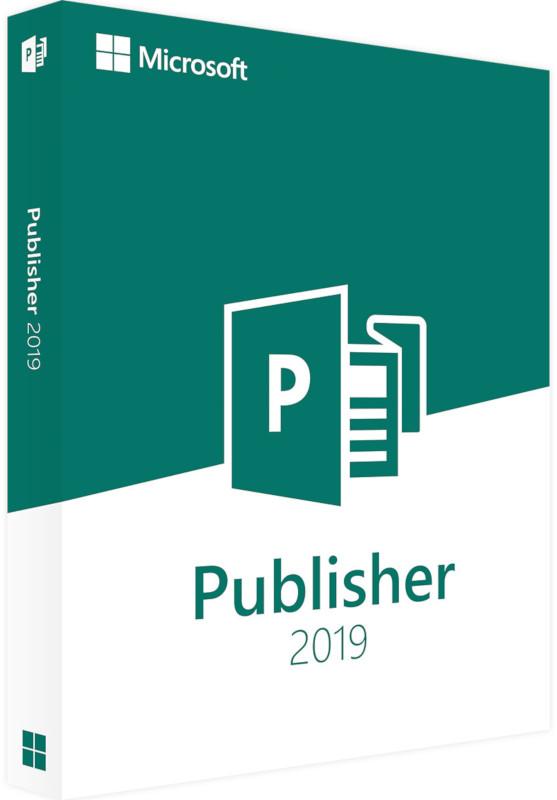 Aplicatie Microsoft Publisher 2019, 32/64-bit, Engleza, OLP NL