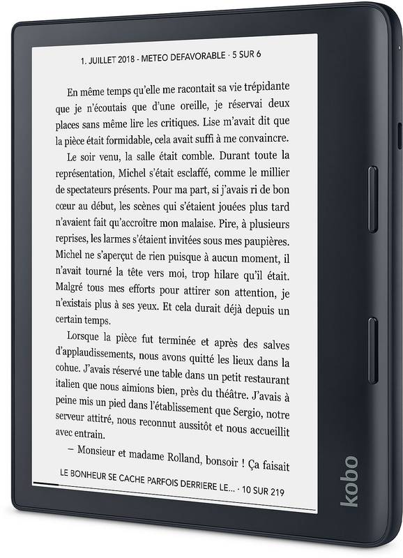 E-book Reader Kobo Sage, 8 inch, 32GB, Wi-Fi, Black