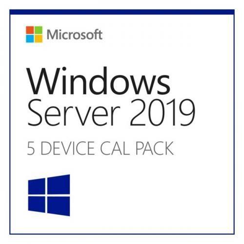 Microsoft Windows 2019 Server, Engleza, 5 CAL Device