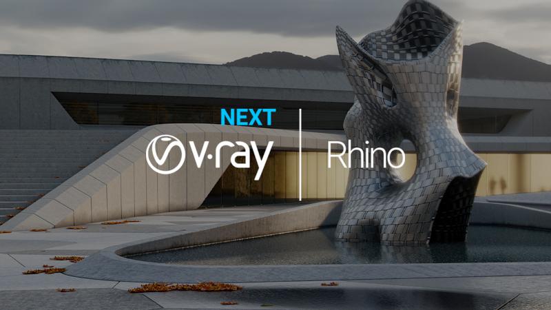 ChaosGroup V-Ray Next pentru Rhino Workstation