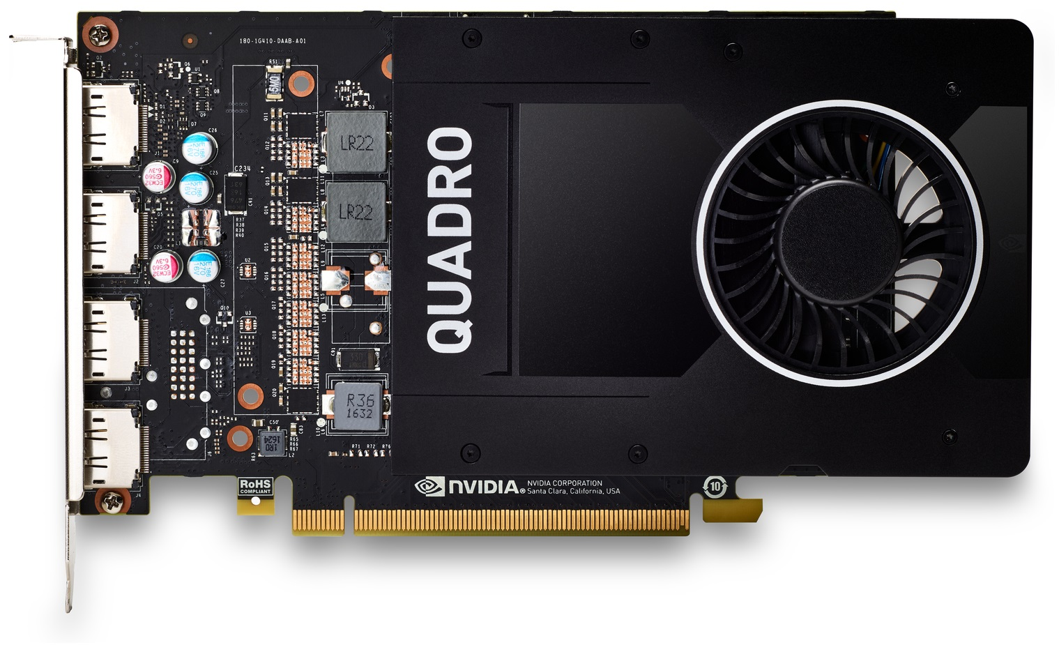 Placa video profesionala HP NVIDIA Quadro P2200 5GB GDDR5X 160-bit