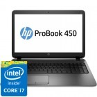 HP 15.6'' Probook 450 G2, HD, Procesor Intel® Core™ i7-4510U (4M Cache, up to 3.10 GHz), 4GB, 1TB, GMA HD 4400, Metalic Silver